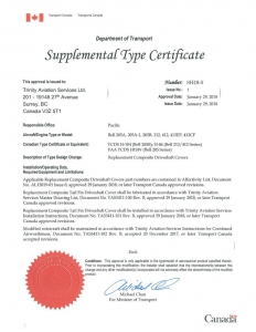 thumbnail of Certificate SH18-5 issue 1 – corrected Copy